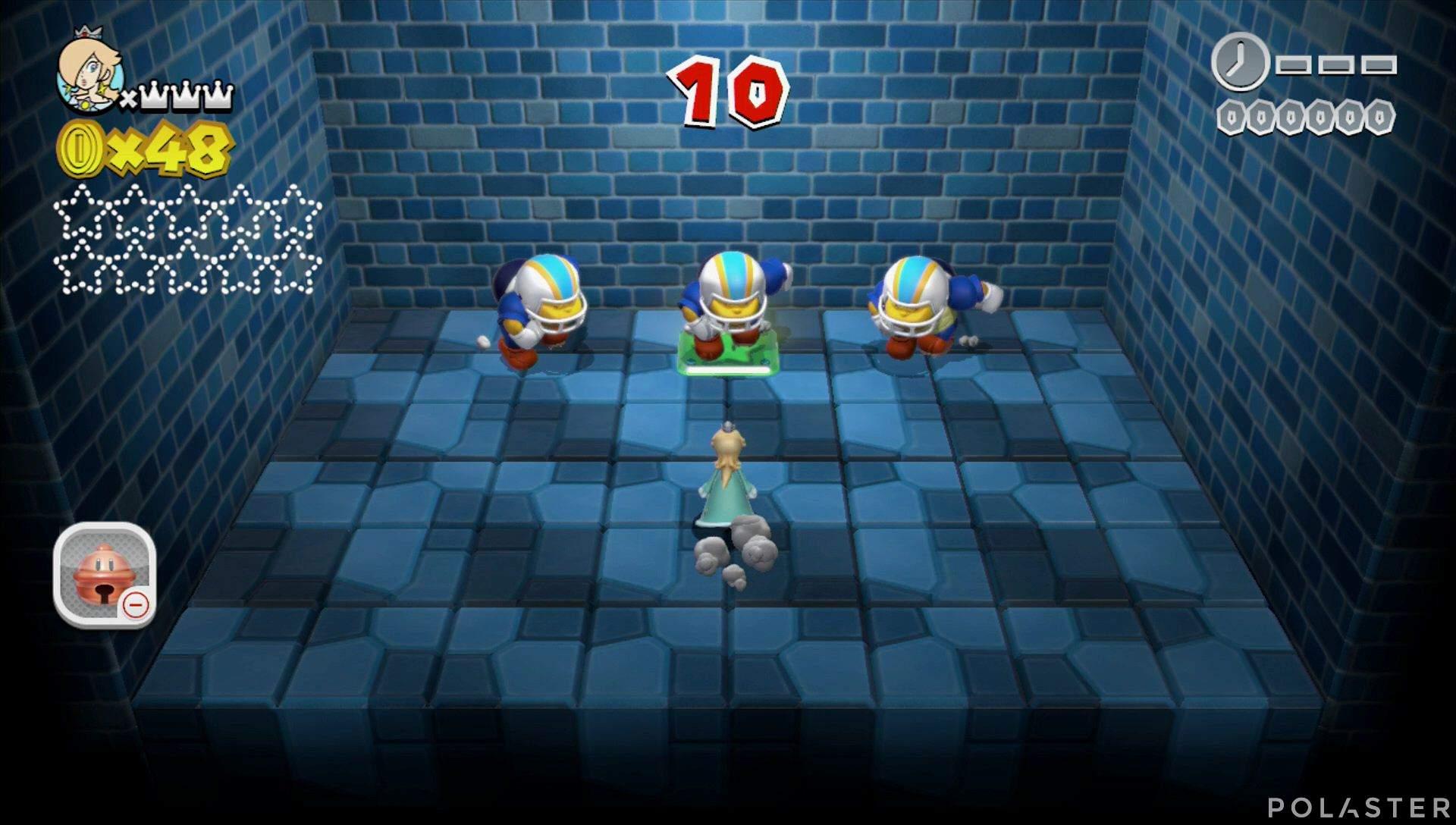 Super Mario 3D World Mundo Champiñón-Misterio Estrella 1