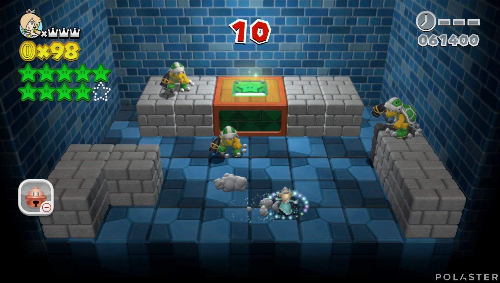 Super Mario 3D World Mundo Champiñón-Misterio Estrella 10