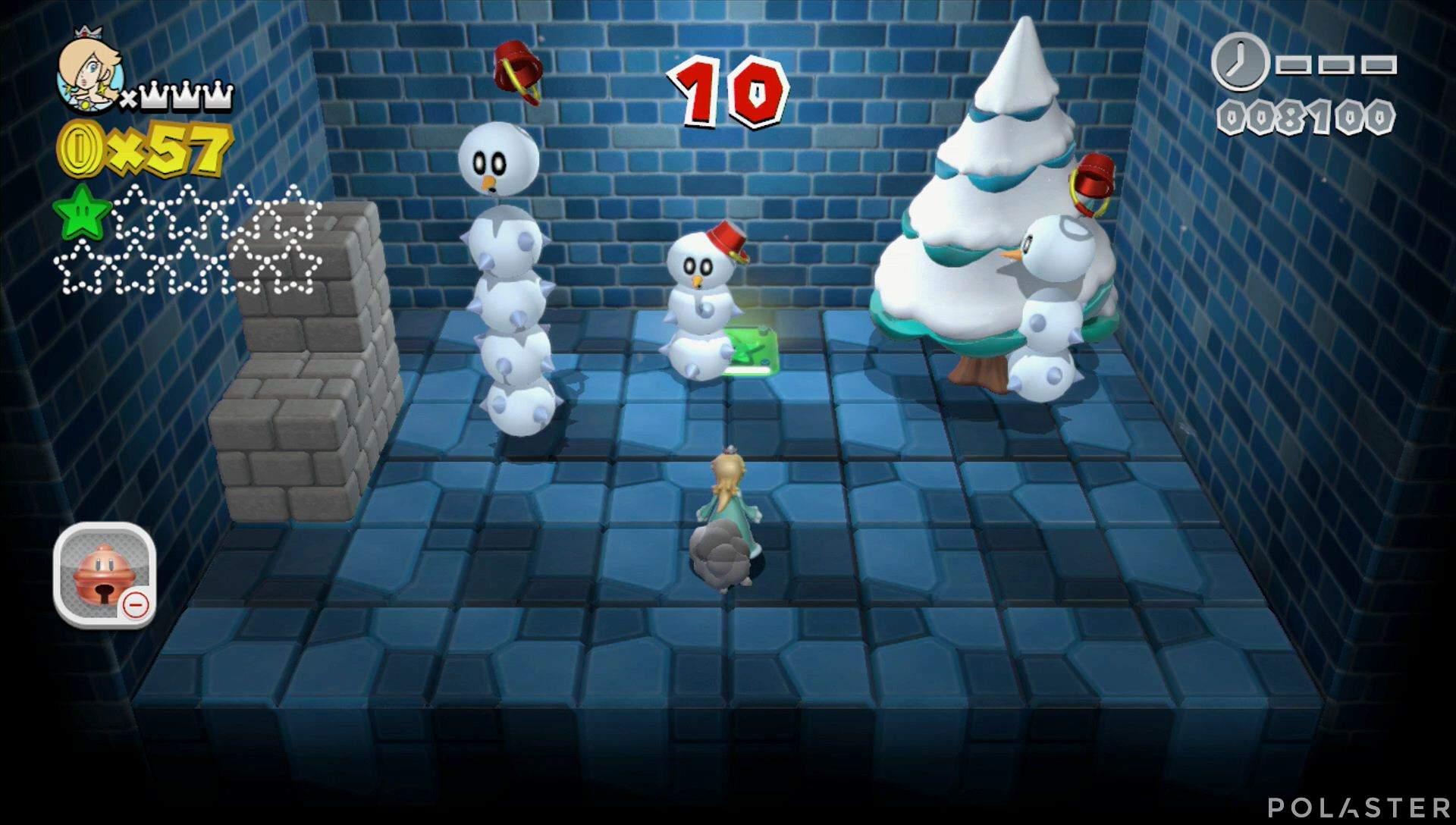 Super Mario 3D World Mundo Champiñón-Misterio Estrella 2