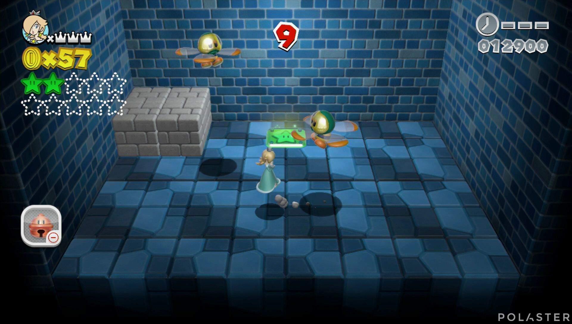 Super Mario 3D World Mundo Champiñón-Misterio Estrella 3