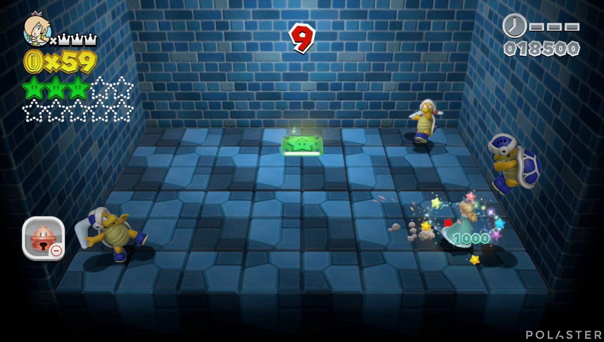 Super Mario 3D World Mundo Champiñón-Misterio Estrella 4