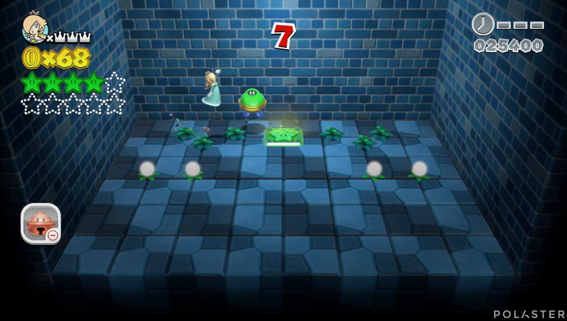 Super Mario 3D World Mundo Champiñón-Misterio Estrella 5