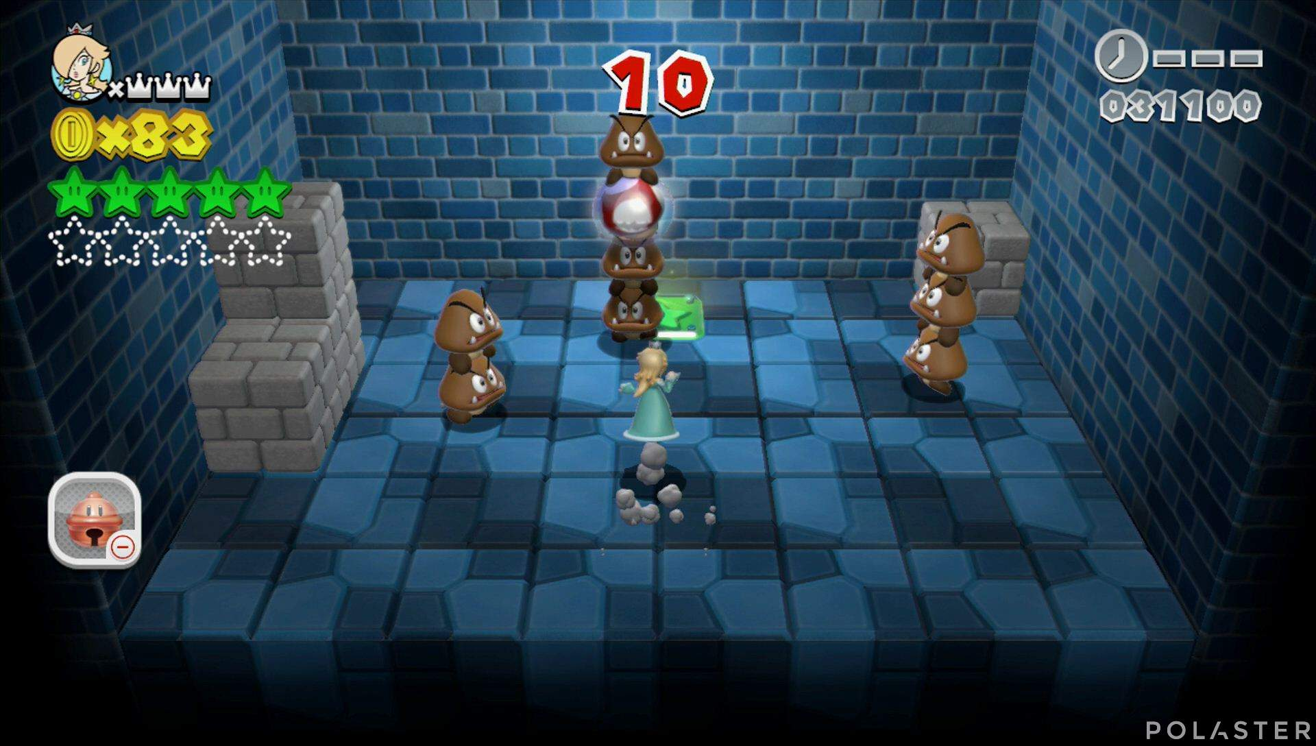 Super Mario 3D World Mundo Champiñón-Misterio Estrella 6