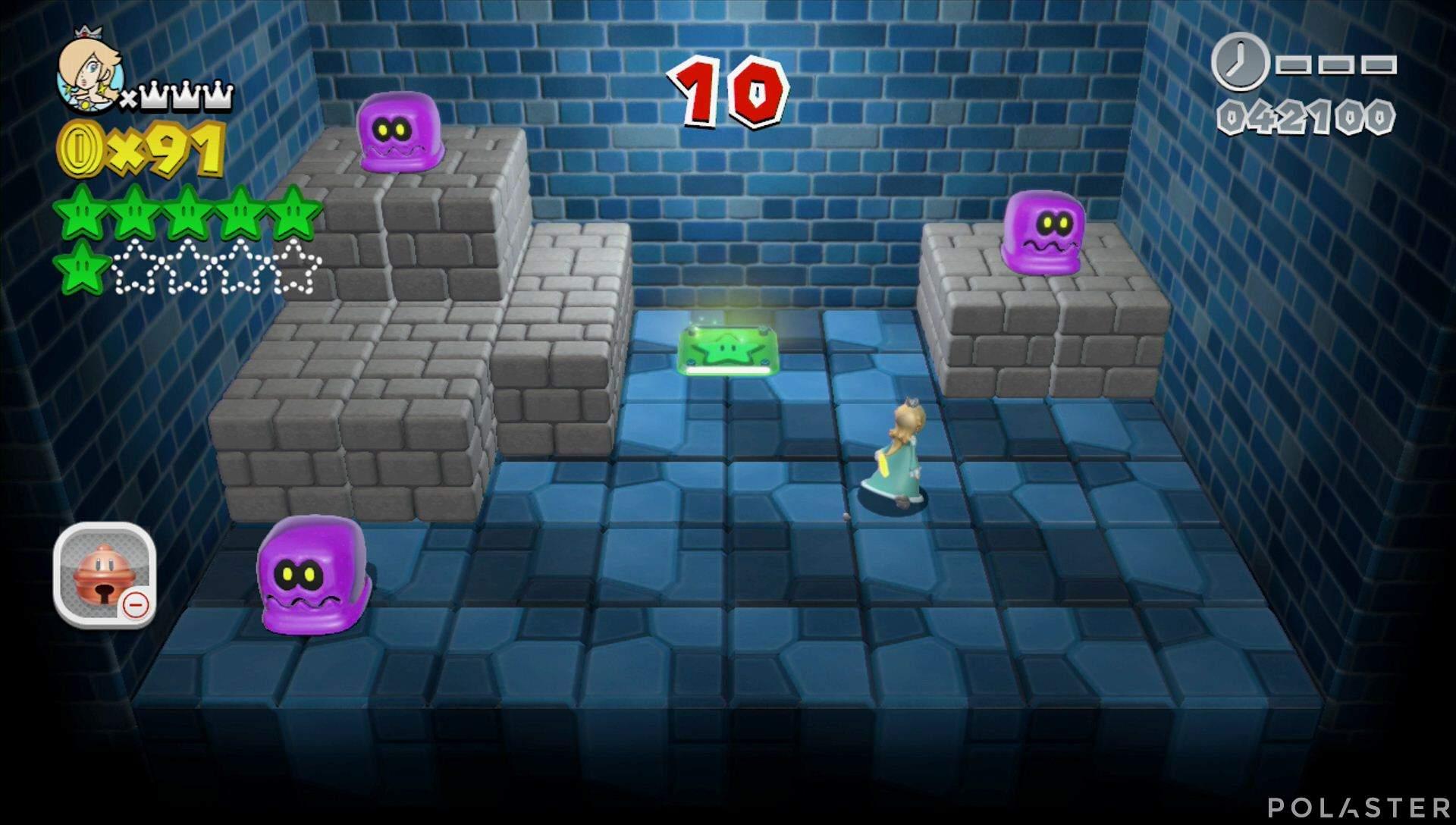 Super Mario 3D World Mundo Champiñón-Misterio Estrella 7