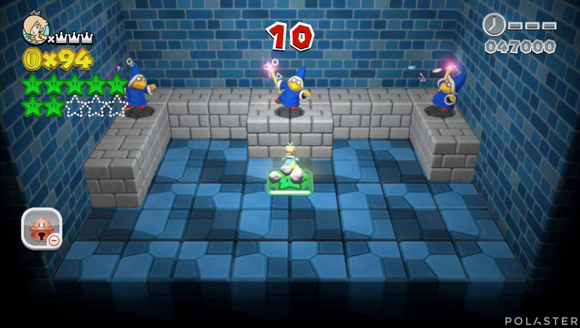 Super Mario 3D World Mundo Champiñón-Misterio Estrella 8