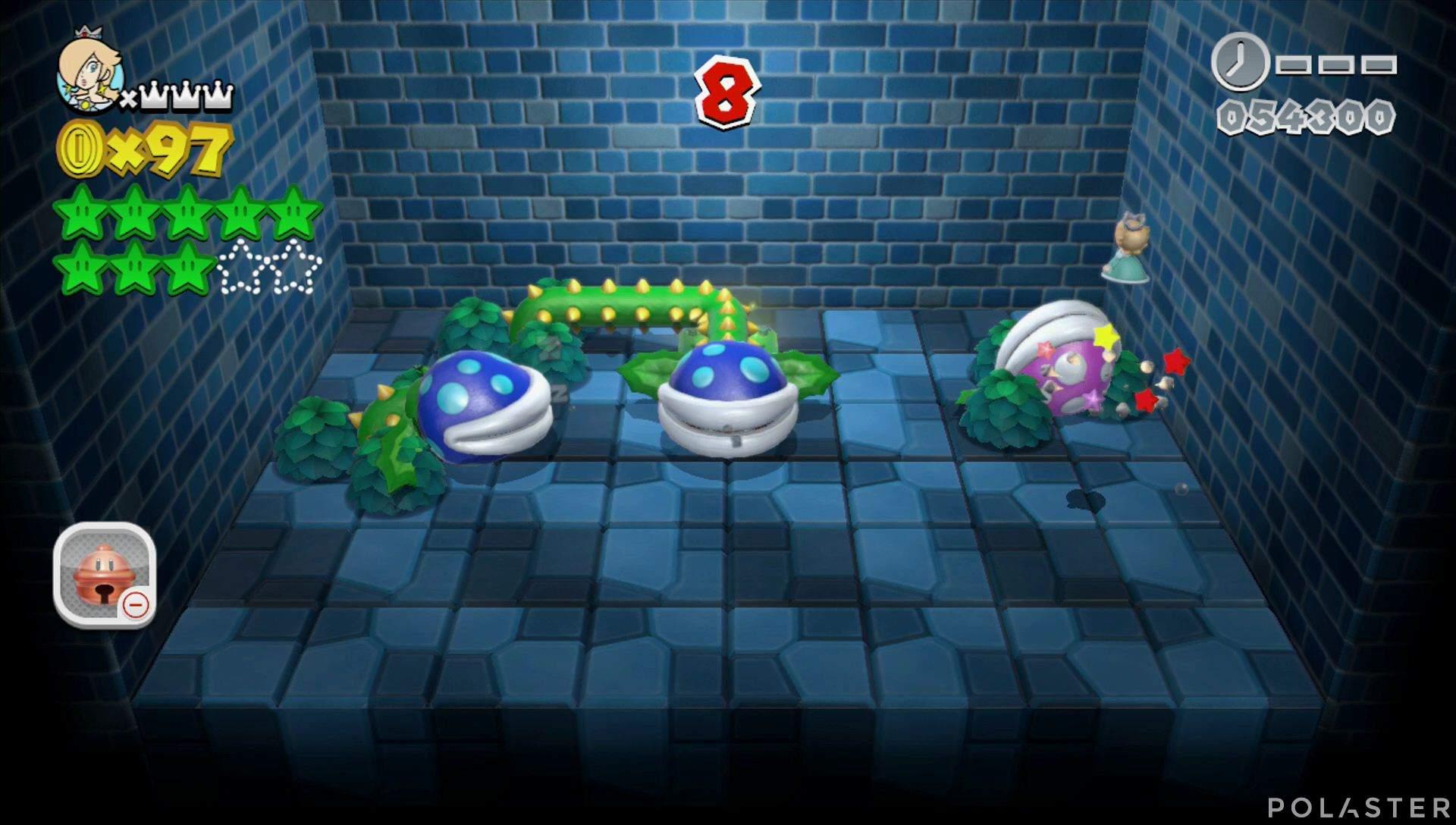 Super Mario 3D World Mundo Champiñón-Misterio Estrella 9