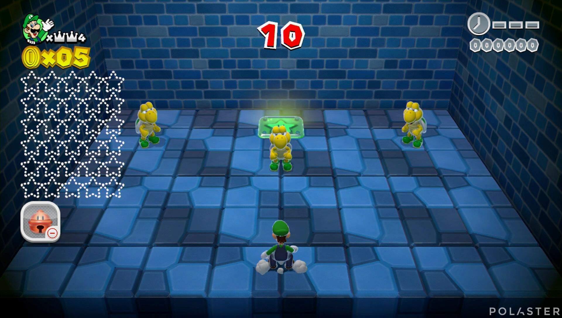 Super Mario 3D World Mundo Corona-Misterio Estrella 1