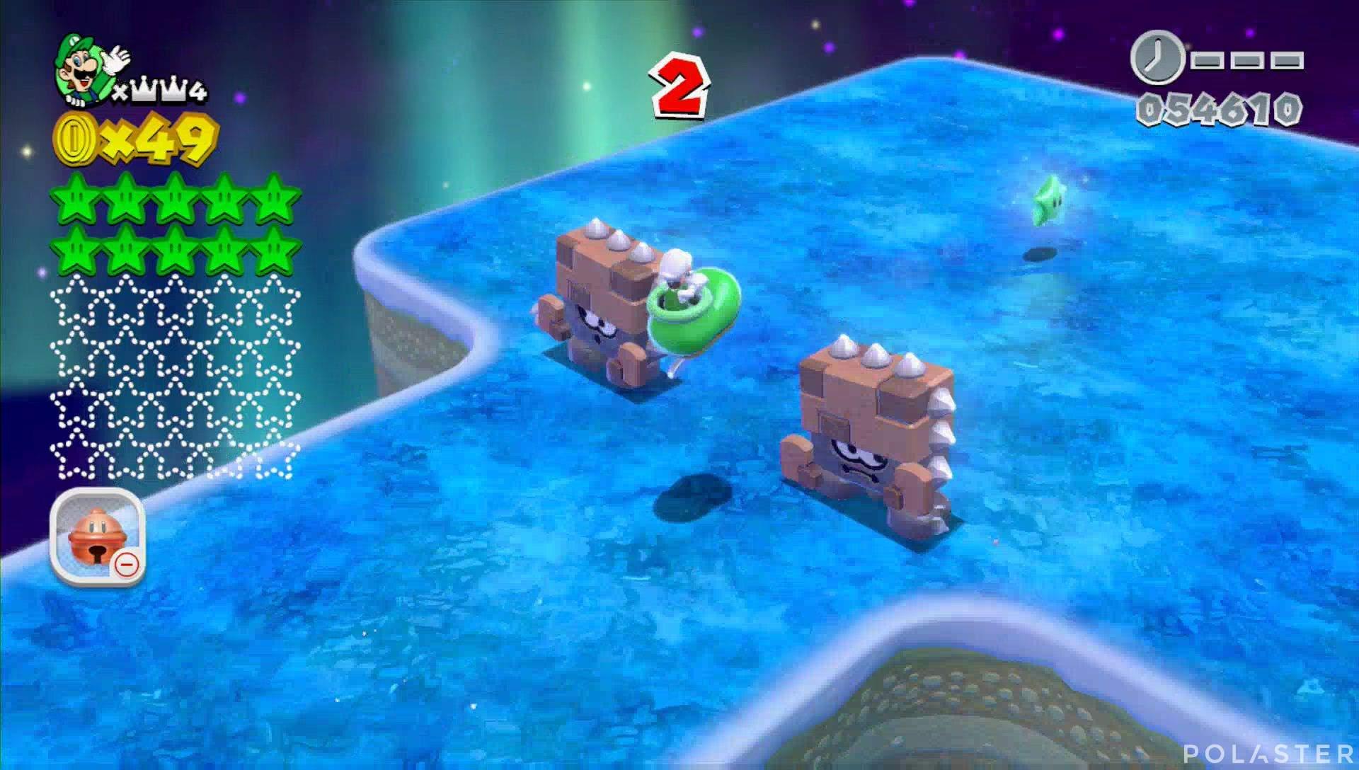 Super Mario 3D World Mundo Corona-Misterio Estrella 11
