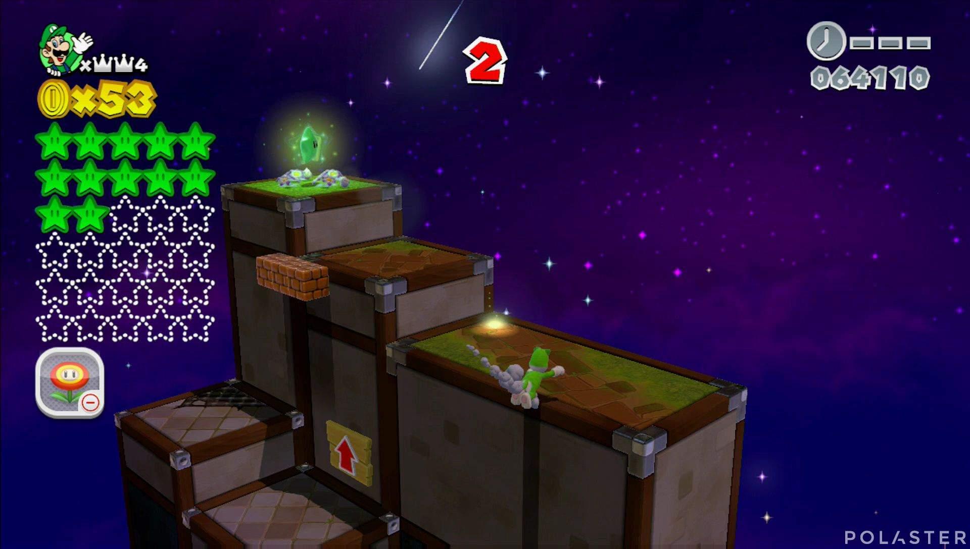 Super Mario 3D World Mundo Corona-Misterio Estrella 13