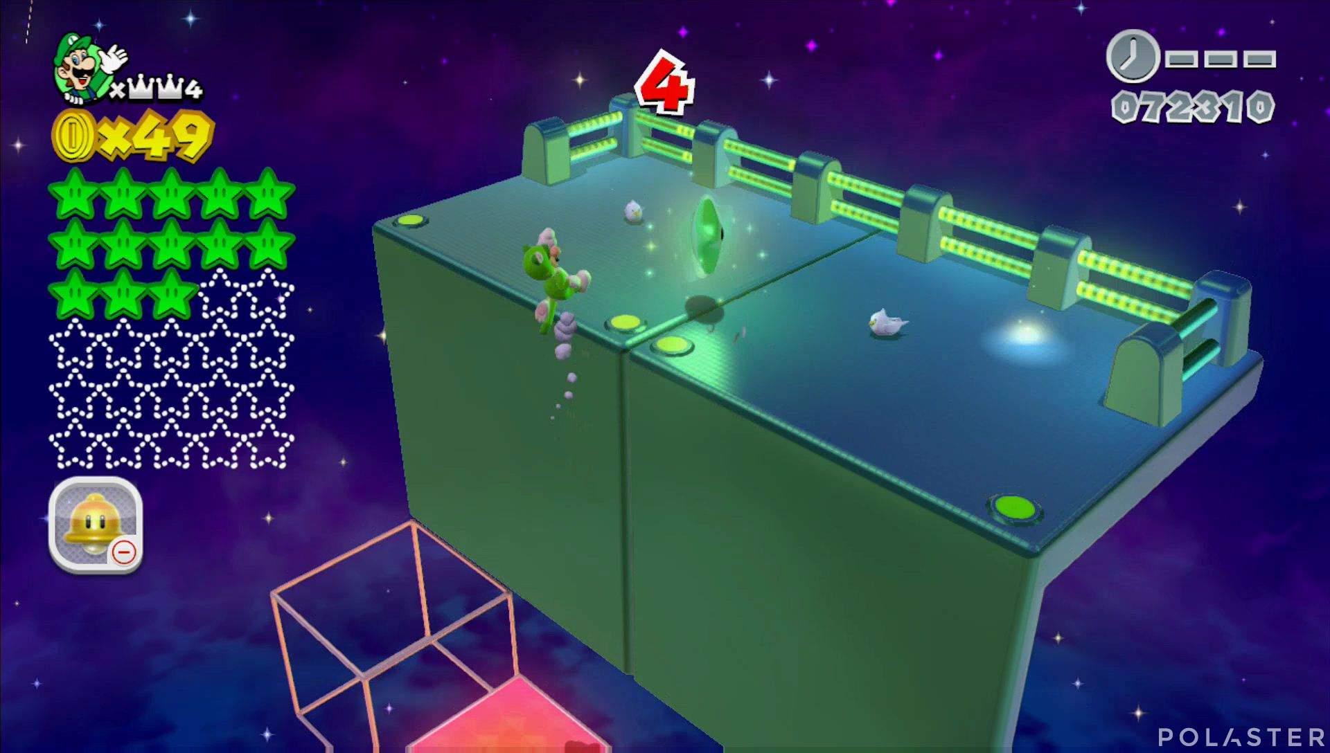 Super Mario 3D World Mundo Corona-Misterio Estrella 14