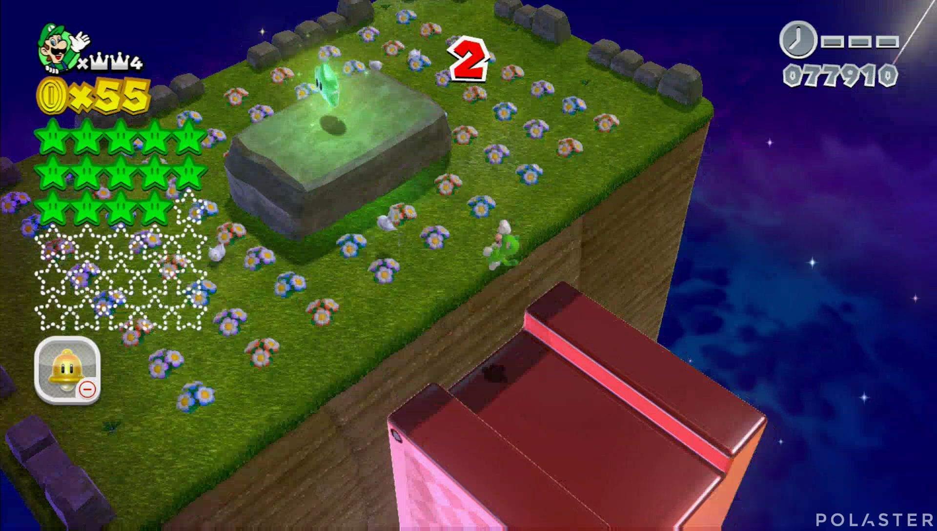 Super Mario 3D World Mundo Corona-Misterio Estrella 15