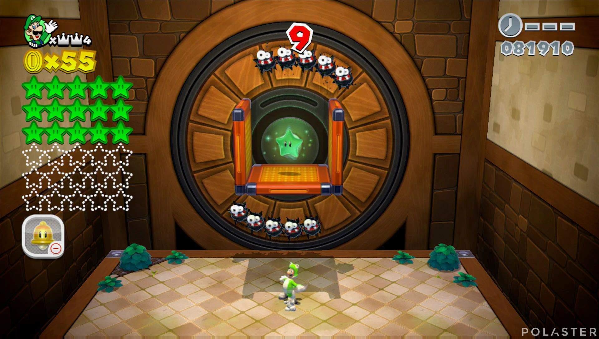 Super Mario 3D World Mundo Corona-Misterio Estrella 16