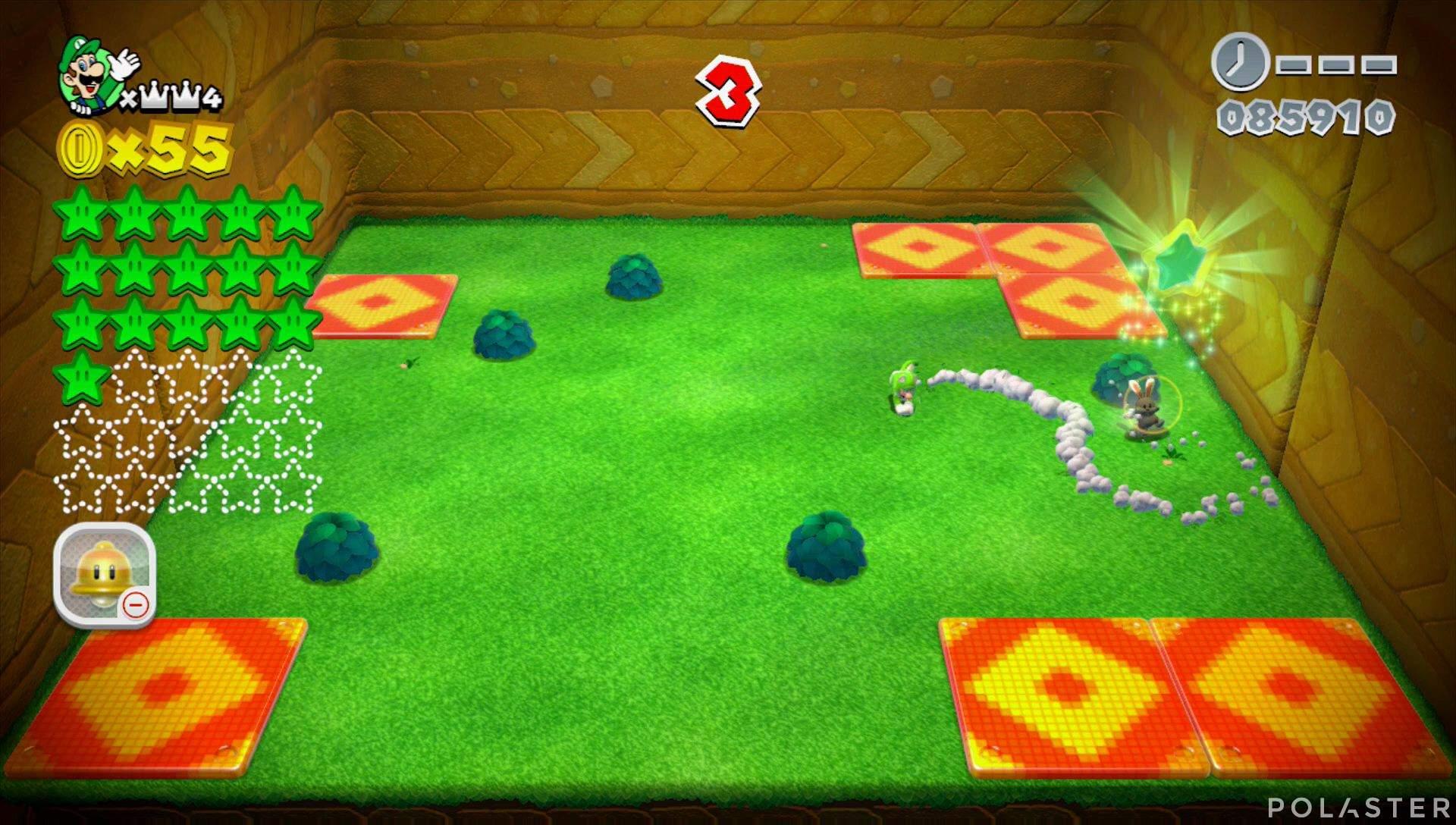 Super Mario 3D World Mundo Corona-Misterio Estrella 17