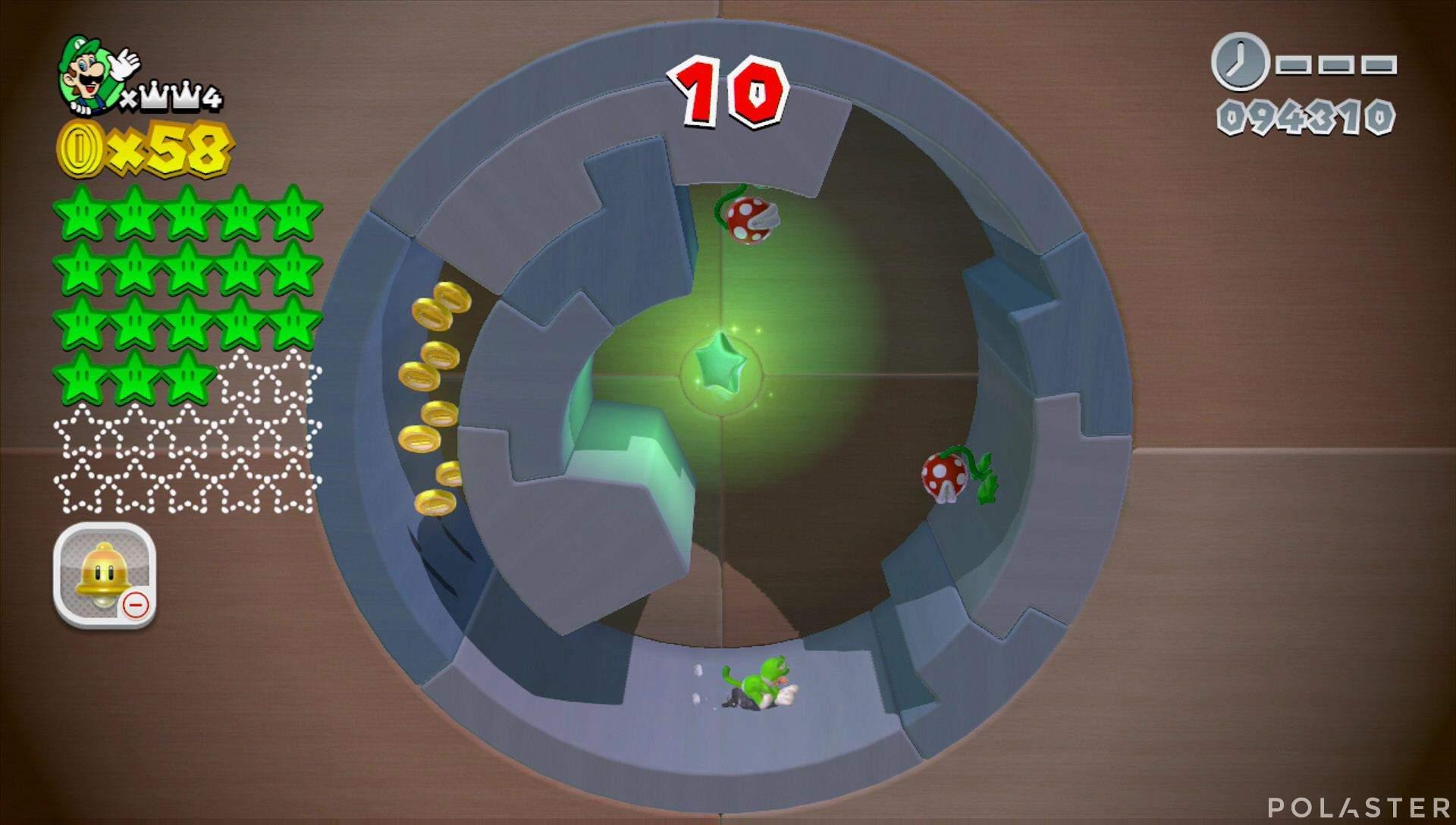 Super Mario 3D World Mundo Corona-Misterio Estrella 19