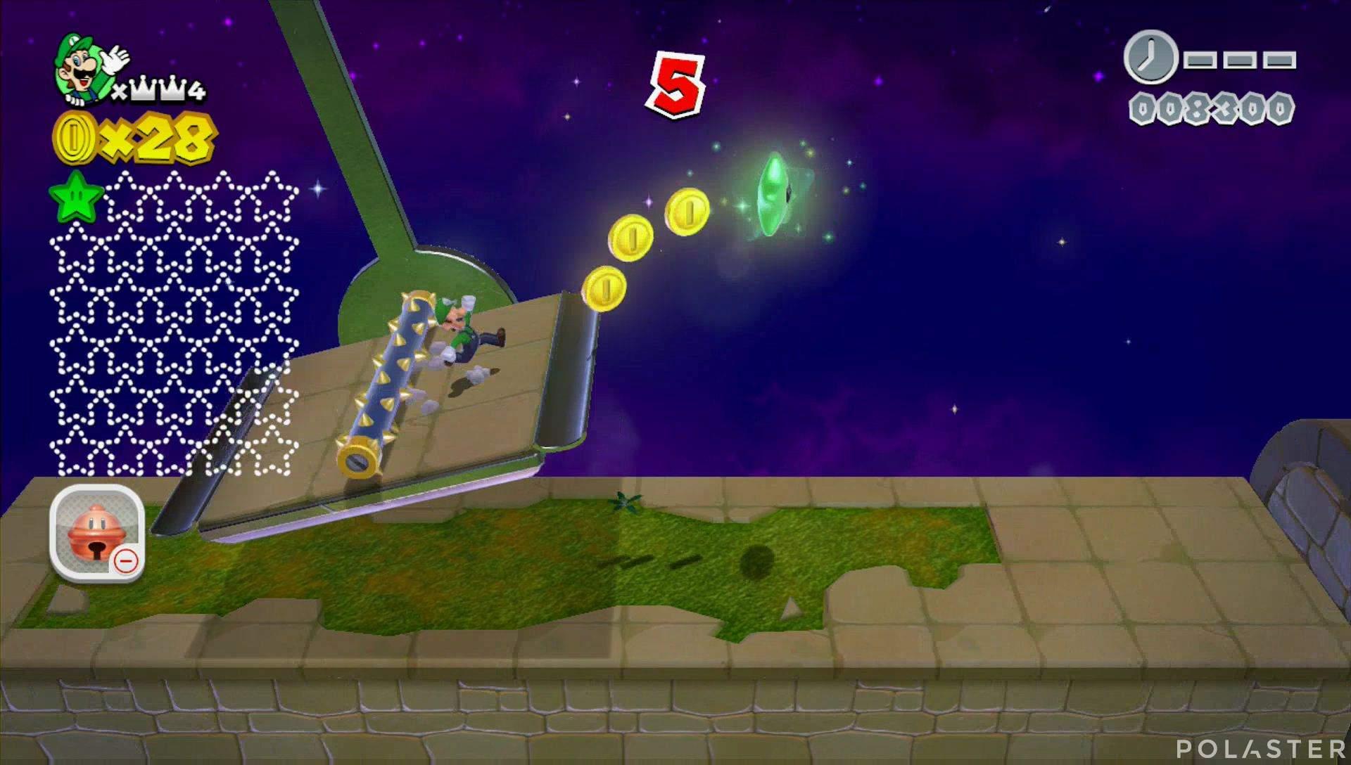 Super Mario 3D World Mundo Corona-Misterio Estrella 2
