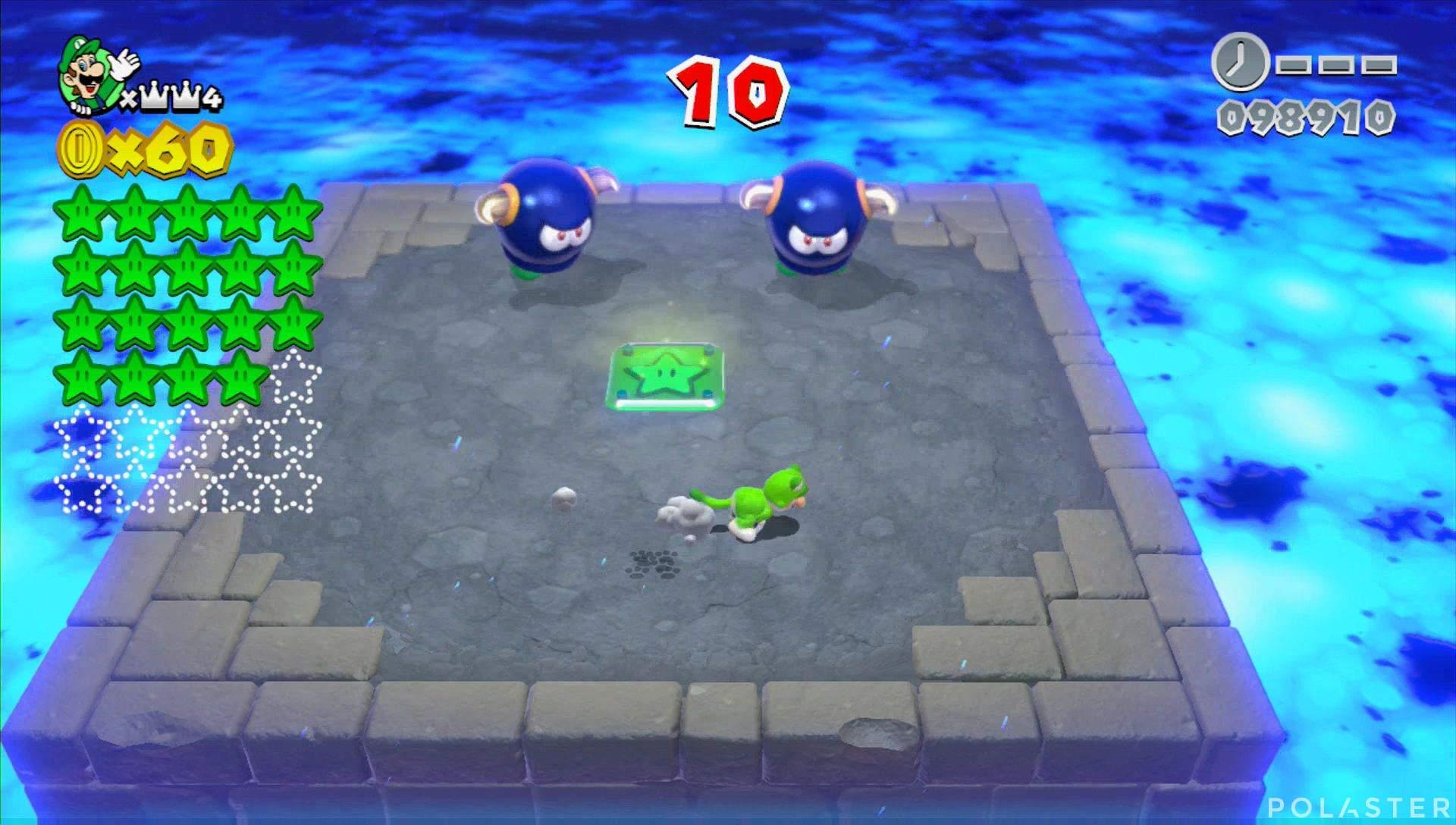Super Mario 3D World Mundo Corona-Misterio Estrella 20