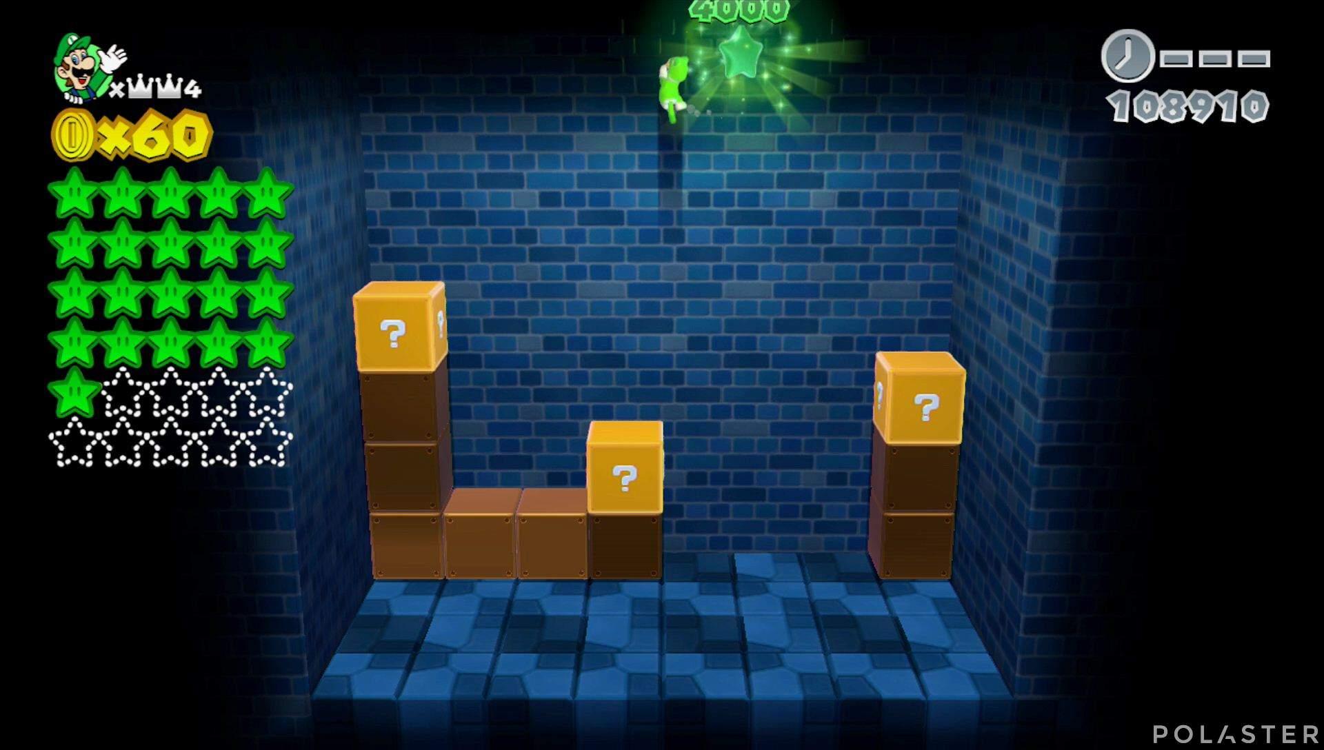 Super Mario 3D World Mundo Corona-Misterio Estrella 21