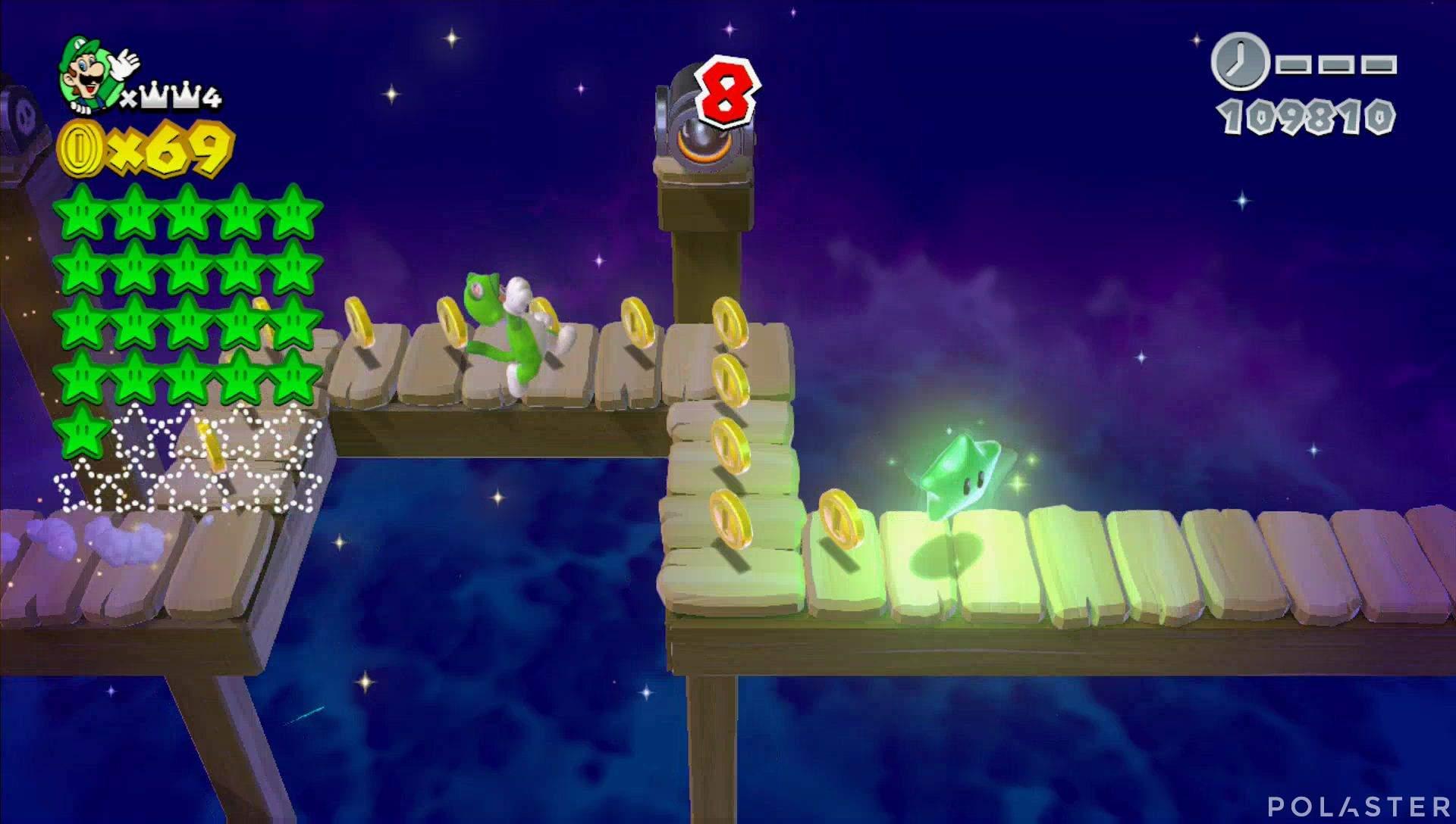 Super Mario 3D World Mundo Corona-Misterio Estrella 22