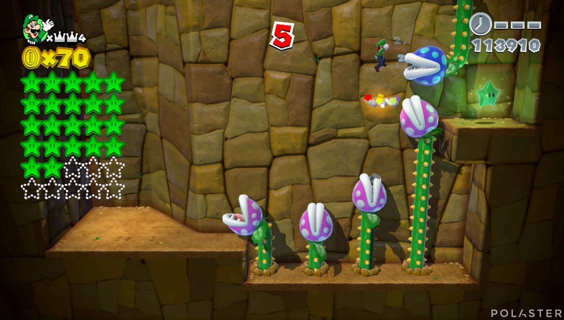 Super Mario 3D World Mundo Corona-Misterio Estrella 23