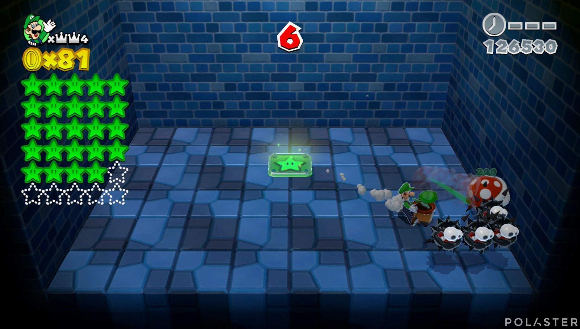Super Mario 3D World Mundo Corona-Misterio Estrella 25