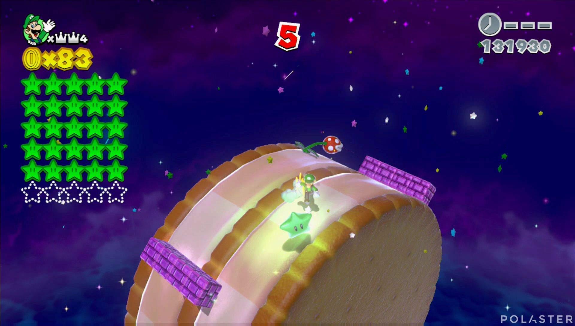Super Mario 3D World Mundo Corona-Misterio Estrella 26