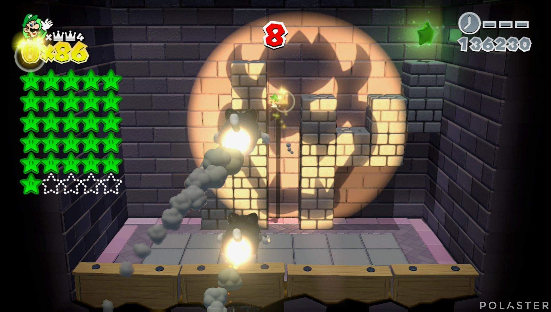 Super Mario 3D World Mundo Corona-Misterio Estrella 27