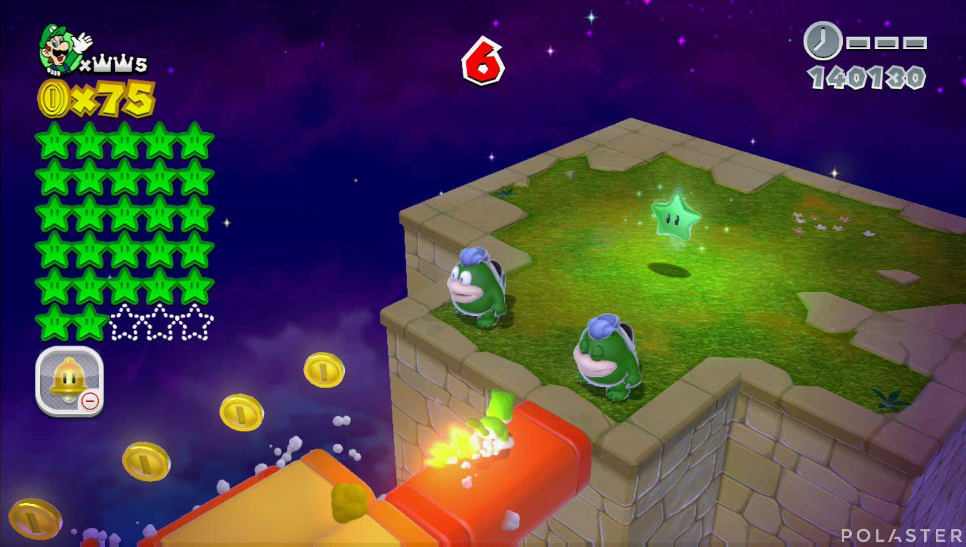 Super Mario 3D World Mundo Corona-Misterio Estrella 28