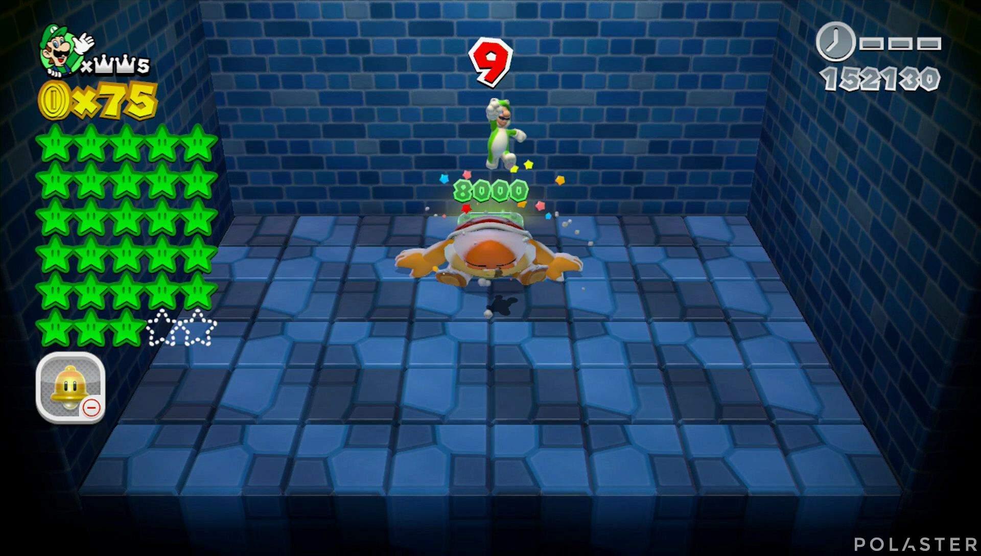 Super Mario 3D World Mundo Corona-Misterio Estrella 29