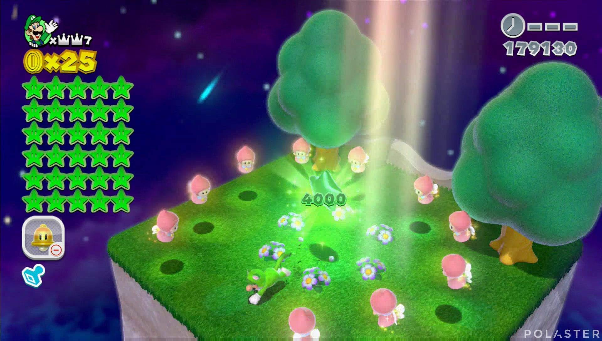 Super Mario 3D World Mundo Corona-Misterio Estrella 30