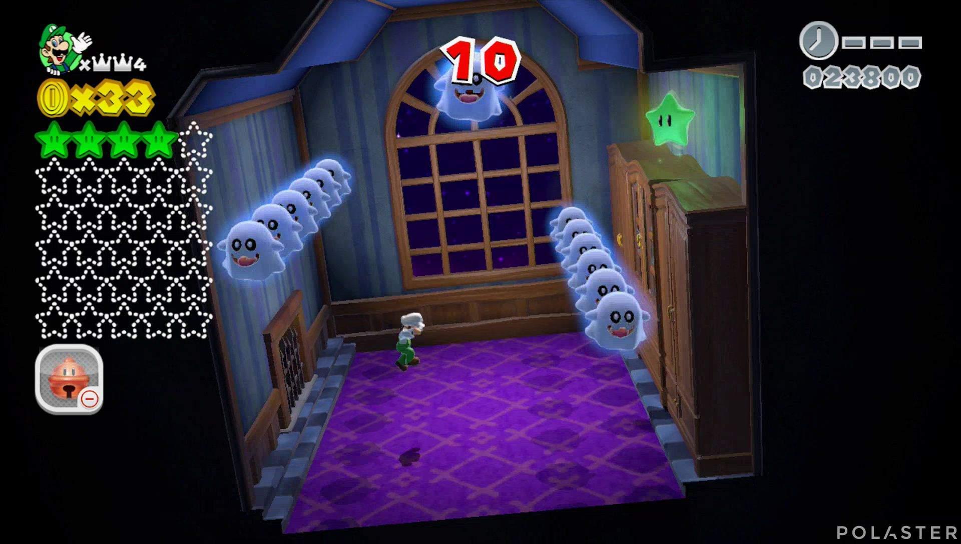 Super Mario 3D World Mundo Corona-Misterio Estrella 5