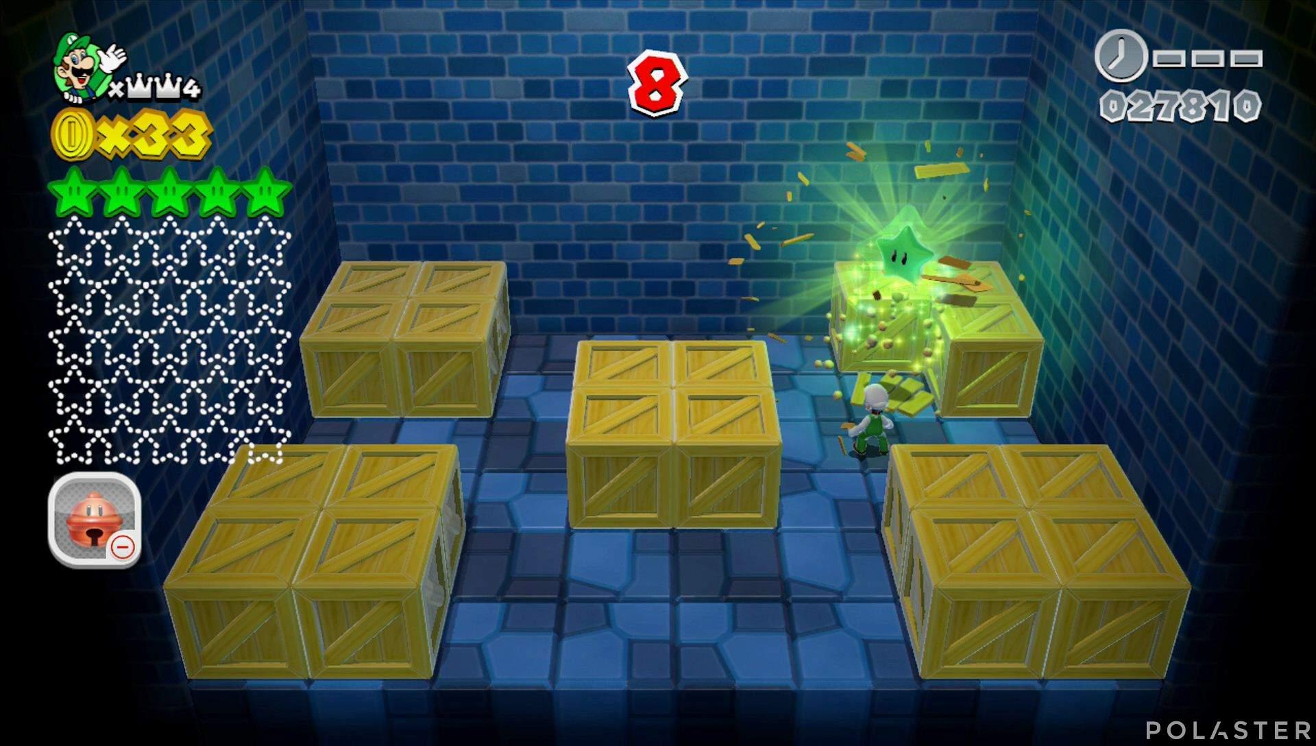 Super Mario 3D World Mundo Corona-Misterio Estrella 6
