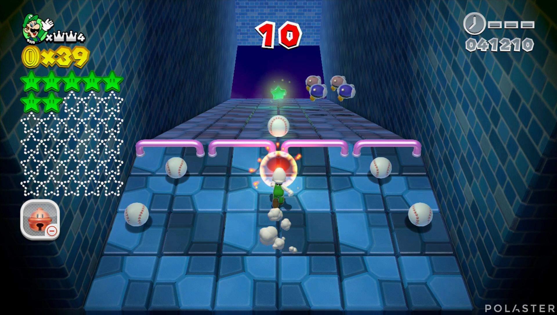 Super Mario 3D World Mundo Corona-Misterio Estrella 8