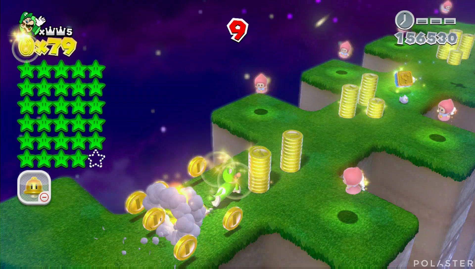 Super Mario 3D World Mundo Corona-Misterio Sello