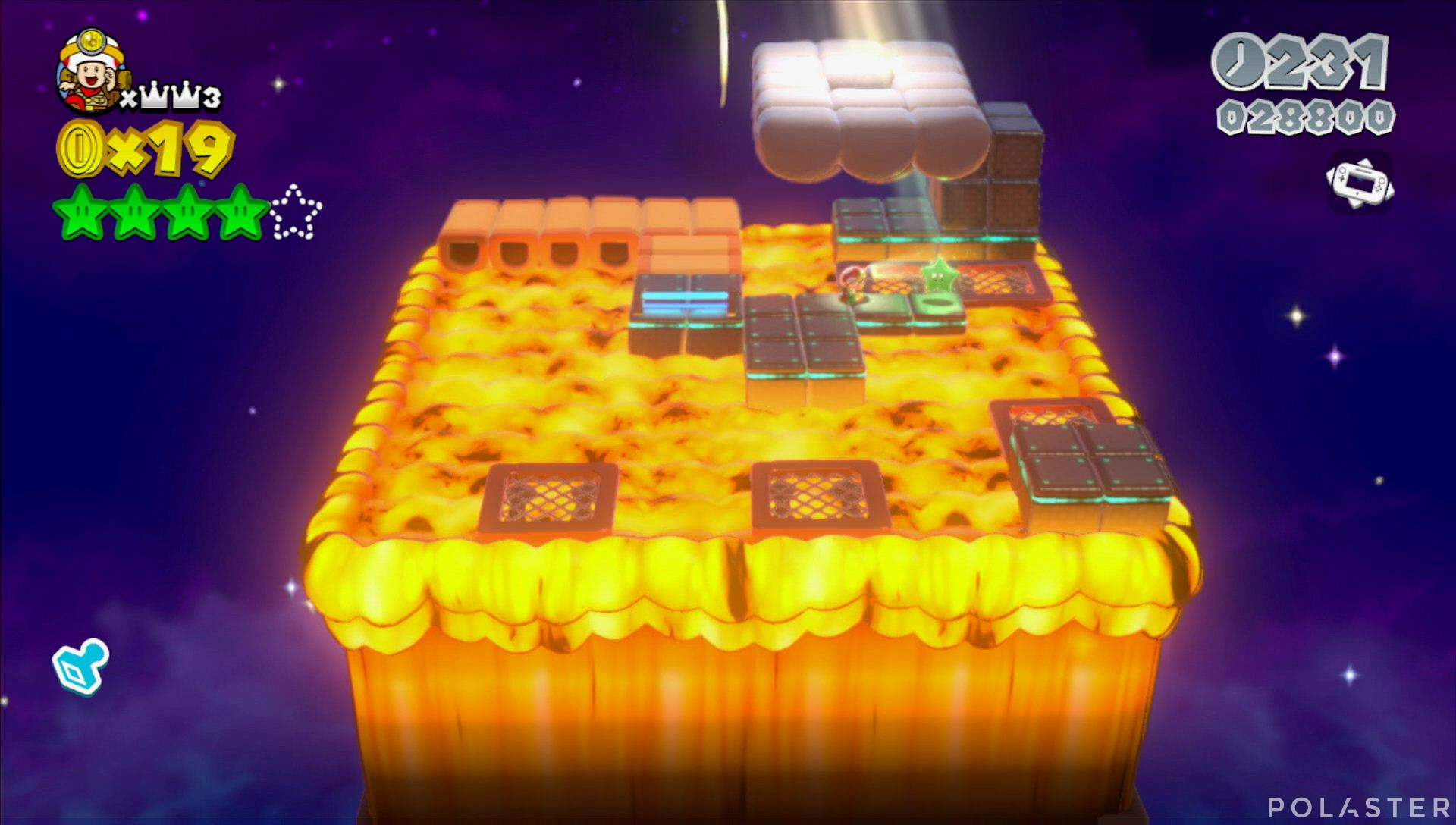 Super Mario 3D World Mundo Corona-Toad Estrella 5