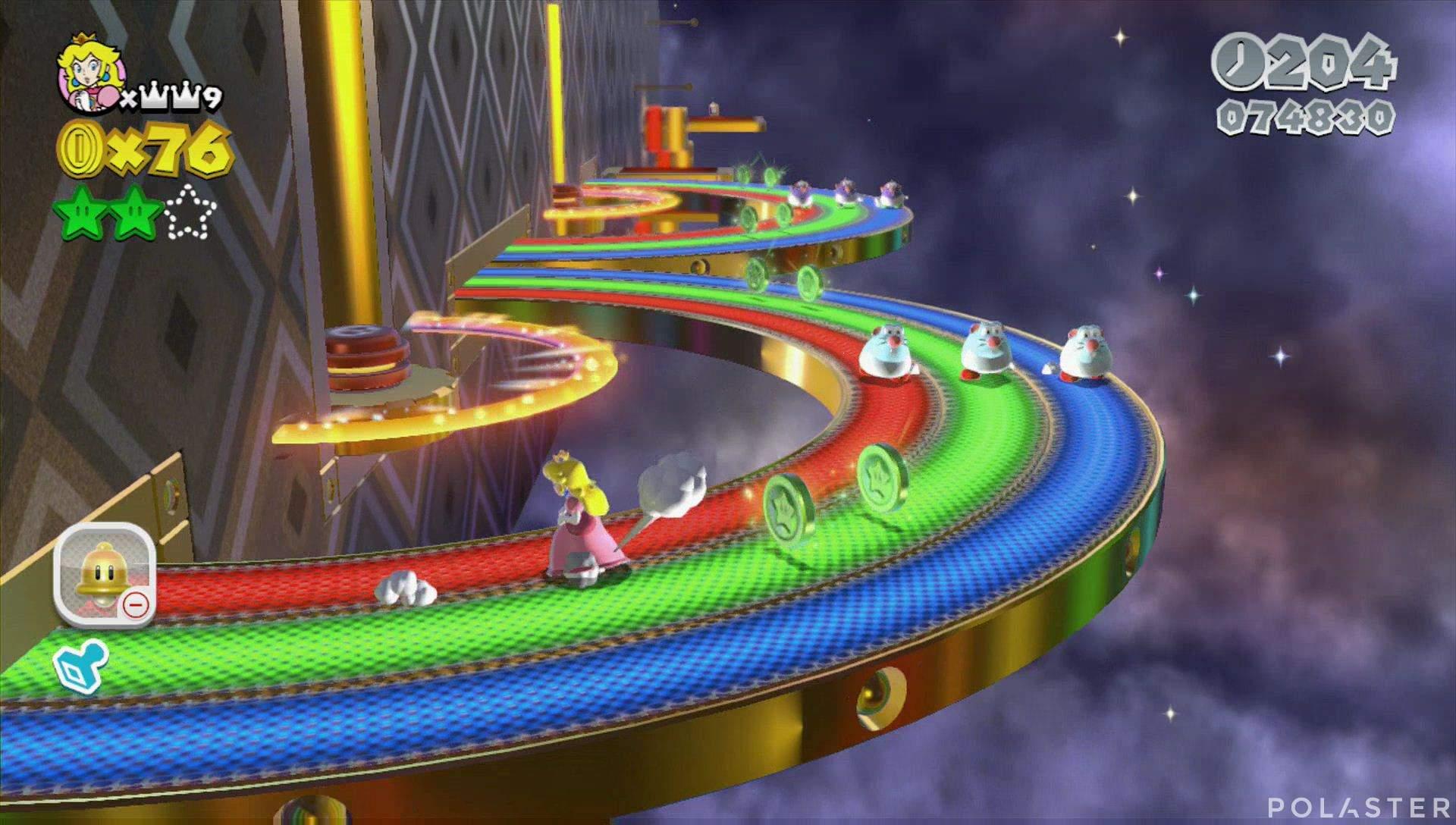 Super Mario 3D World Mundo Estrella-1 Estrella 3
