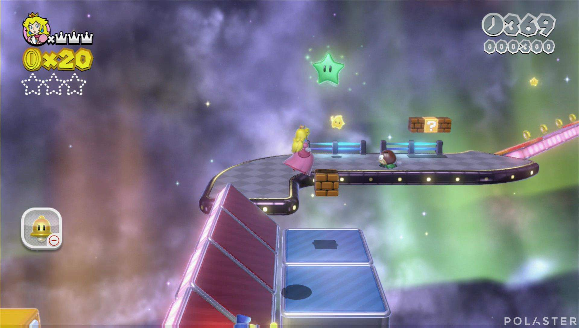 Super Mario 3D World Mundo Estrella-2 Estrella 1