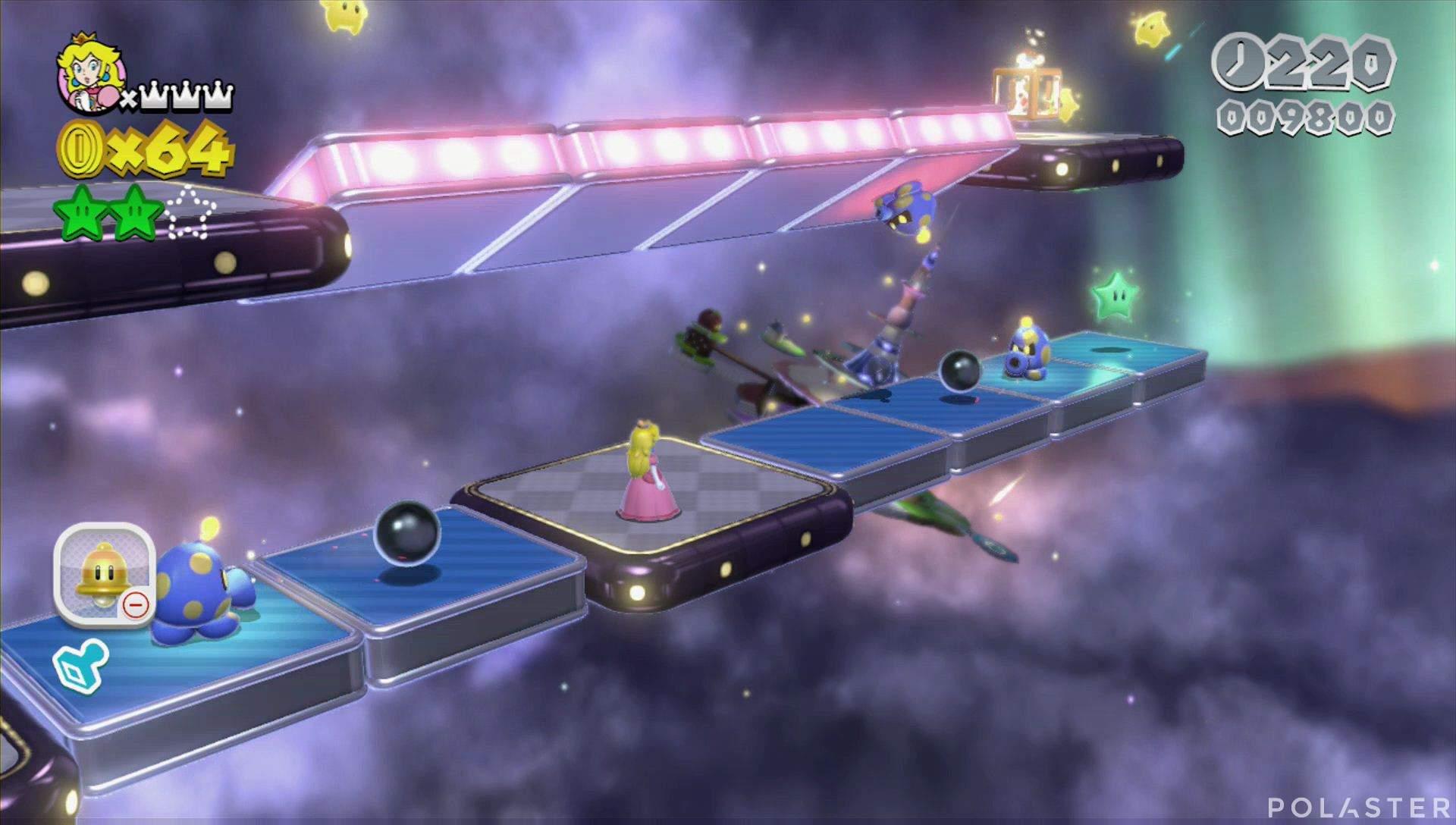 Super Mario 3D World Mundo Estrella-2 Estrella 3