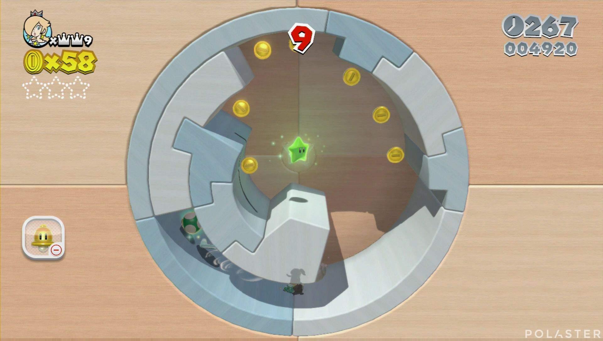 Super Mario 3D World Mundo Estrella-3 Estrella 1
