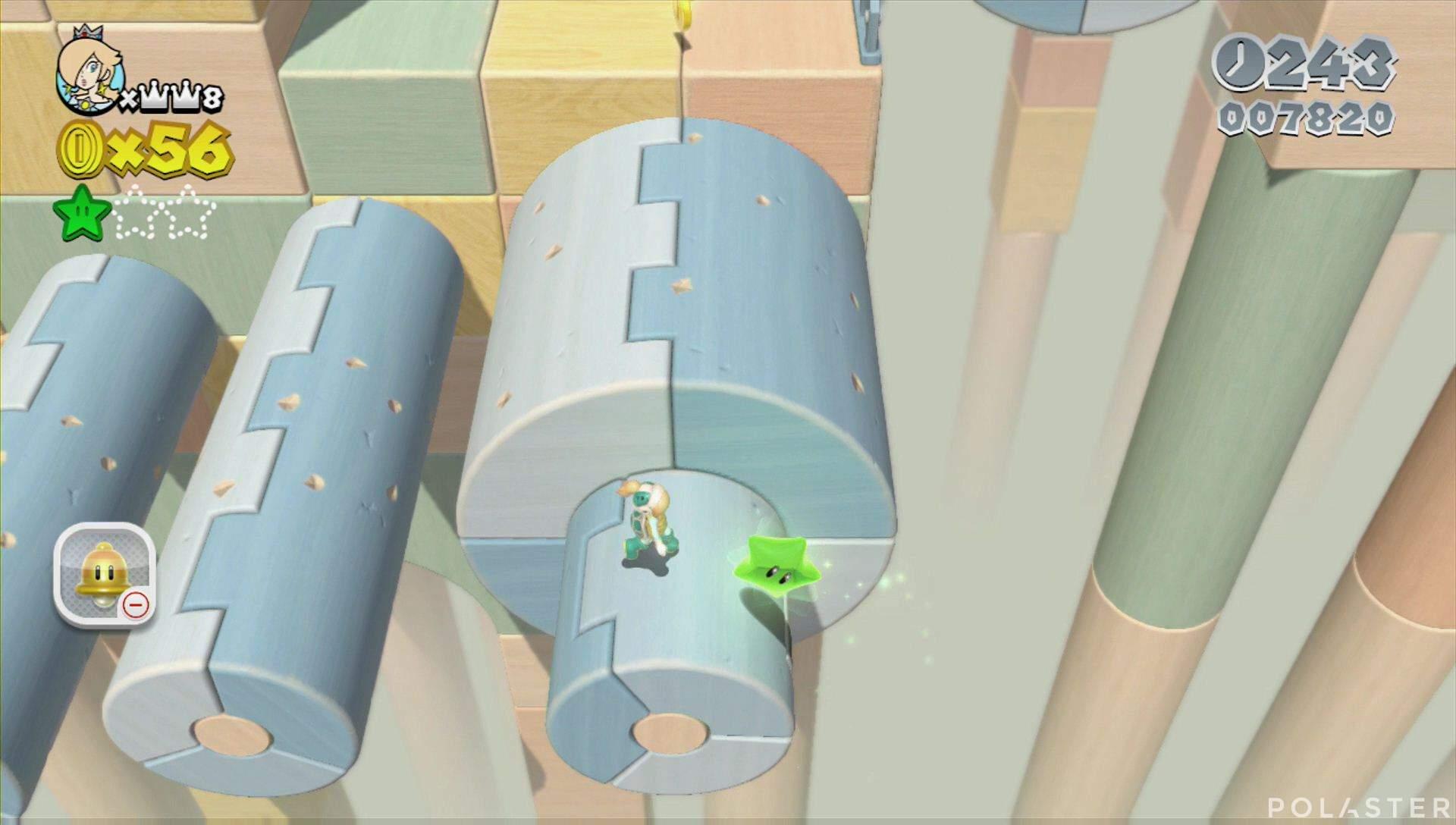 Super Mario 3D World Mundo Estrella-3 Estrella 2