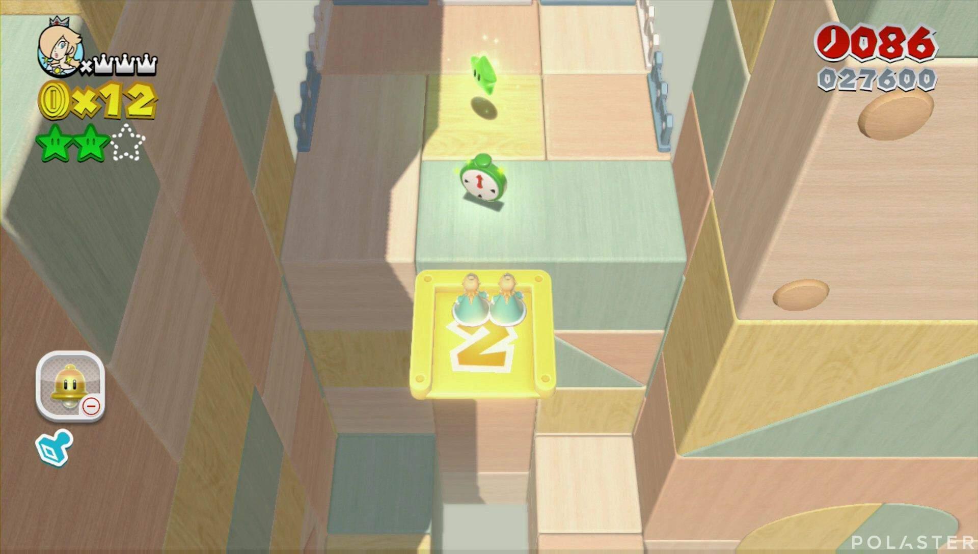 Super Mario 3D World Mundo Estrella-3 Estrella 3
