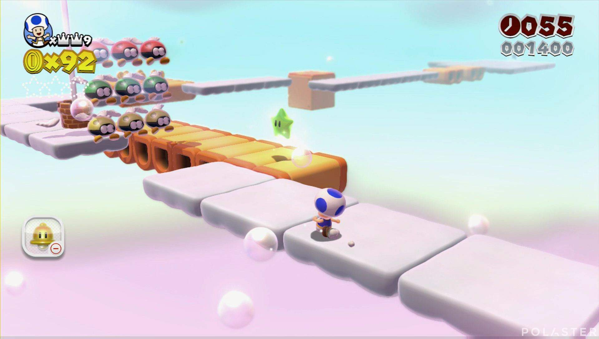 Super Mario 3D World Mundo Estrella-4 Estrella 1