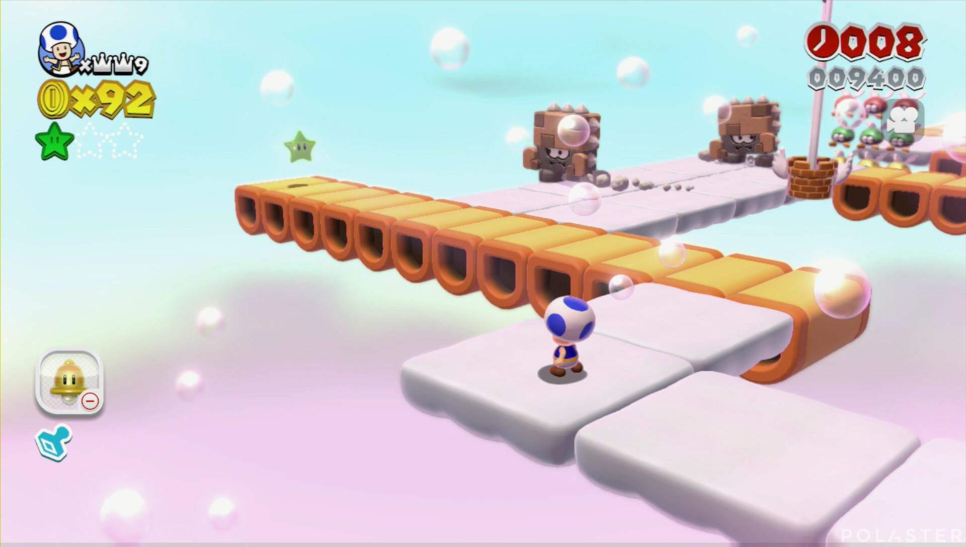 Super Mario 3D World Mundo Estrella-4 Estrella 2