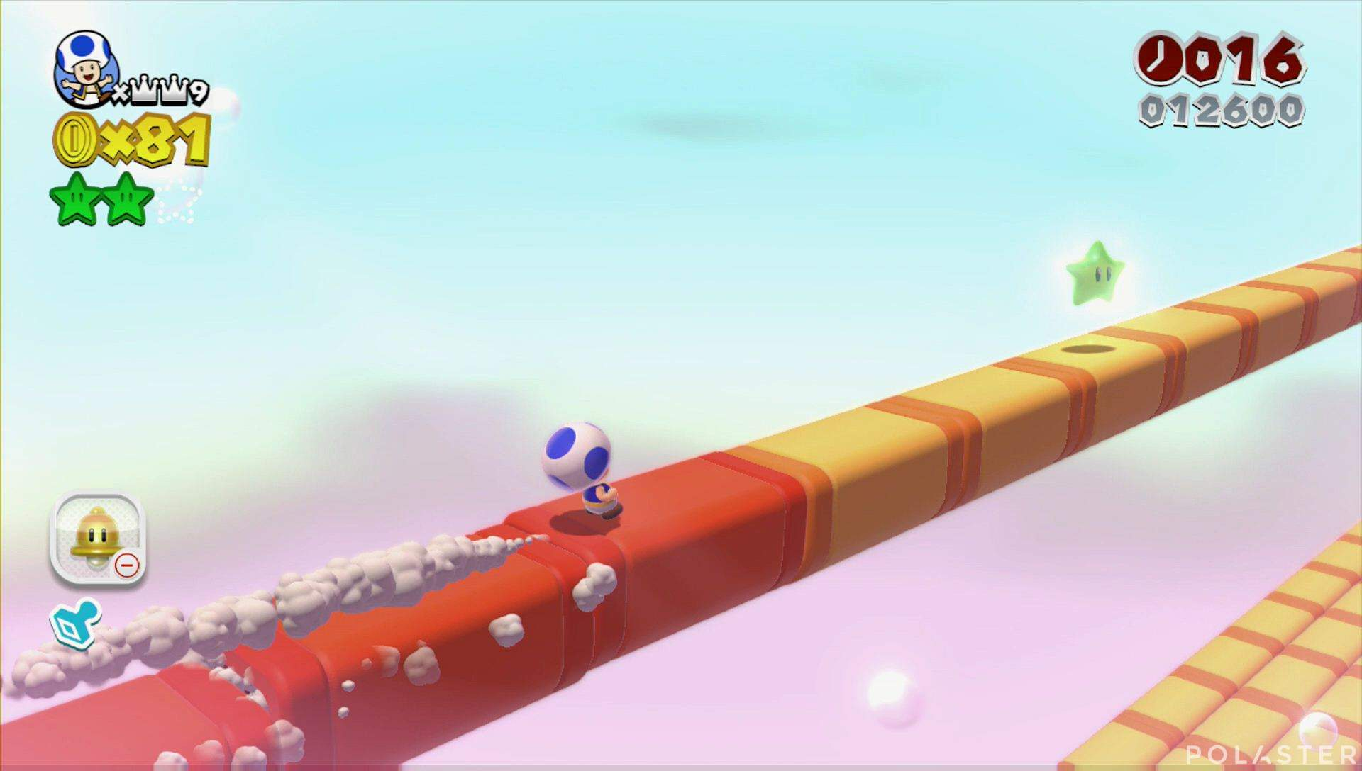 Super Mario 3D World Mundo Estrella-4 Estrella 3