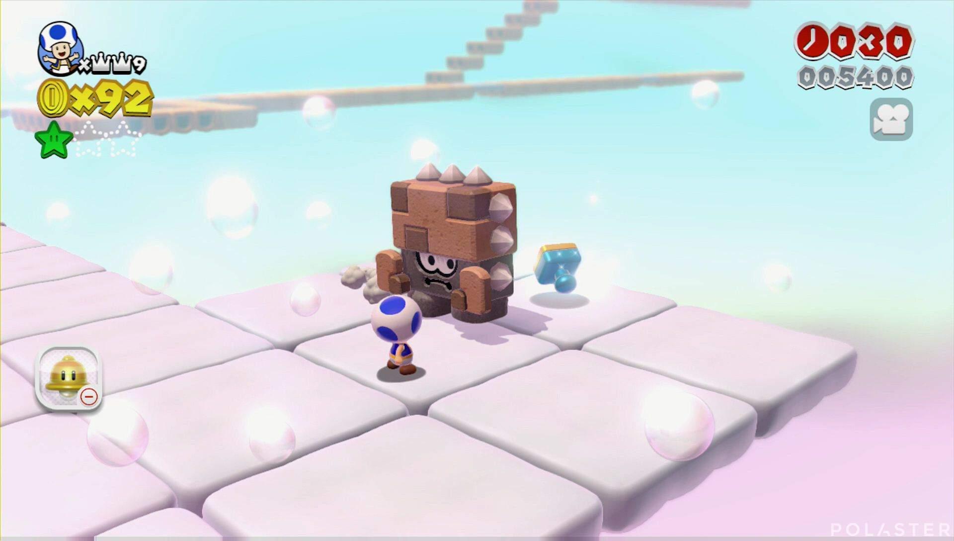 Super Mario 3D World Mundo Estrella-4 Sello