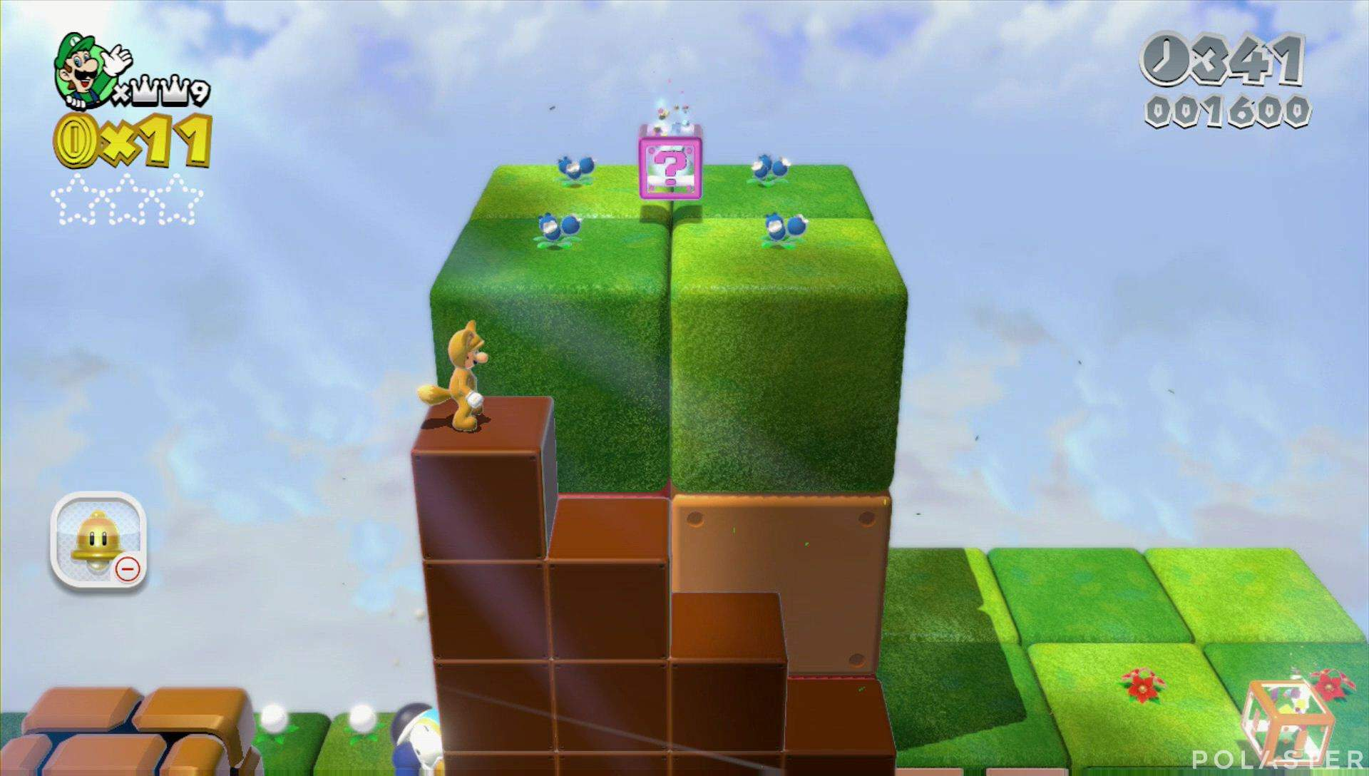 Super Mario 3D World Mundo Estrella-5 Estrella 1