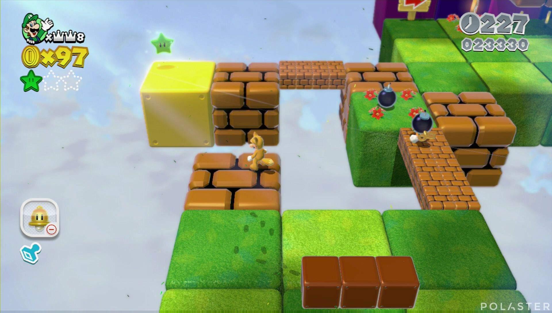 Super Mario 3D World Mundo Estrella-5 Estrella 2
