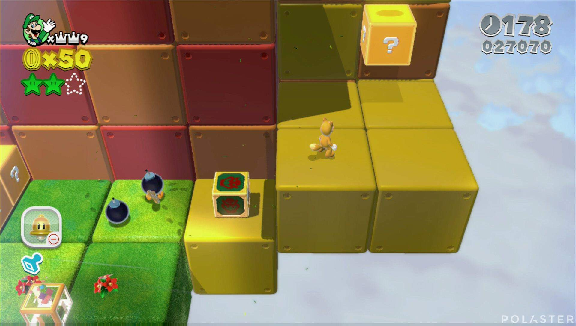 Super Mario 3D World Mundo Estrella-5 Estrella 3
