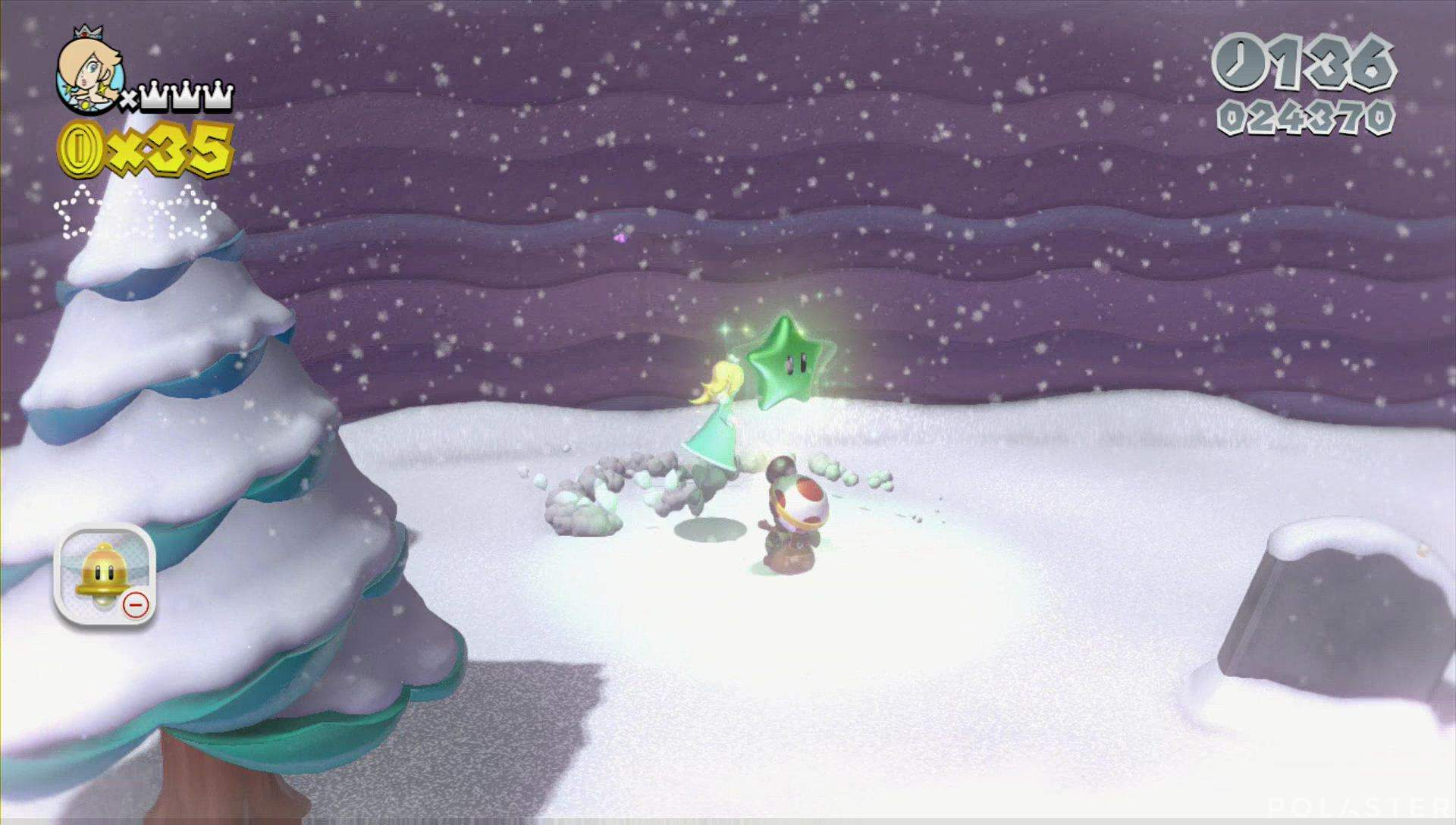 Super Mario 3D World Mundo Estrella-8 Estrella 1