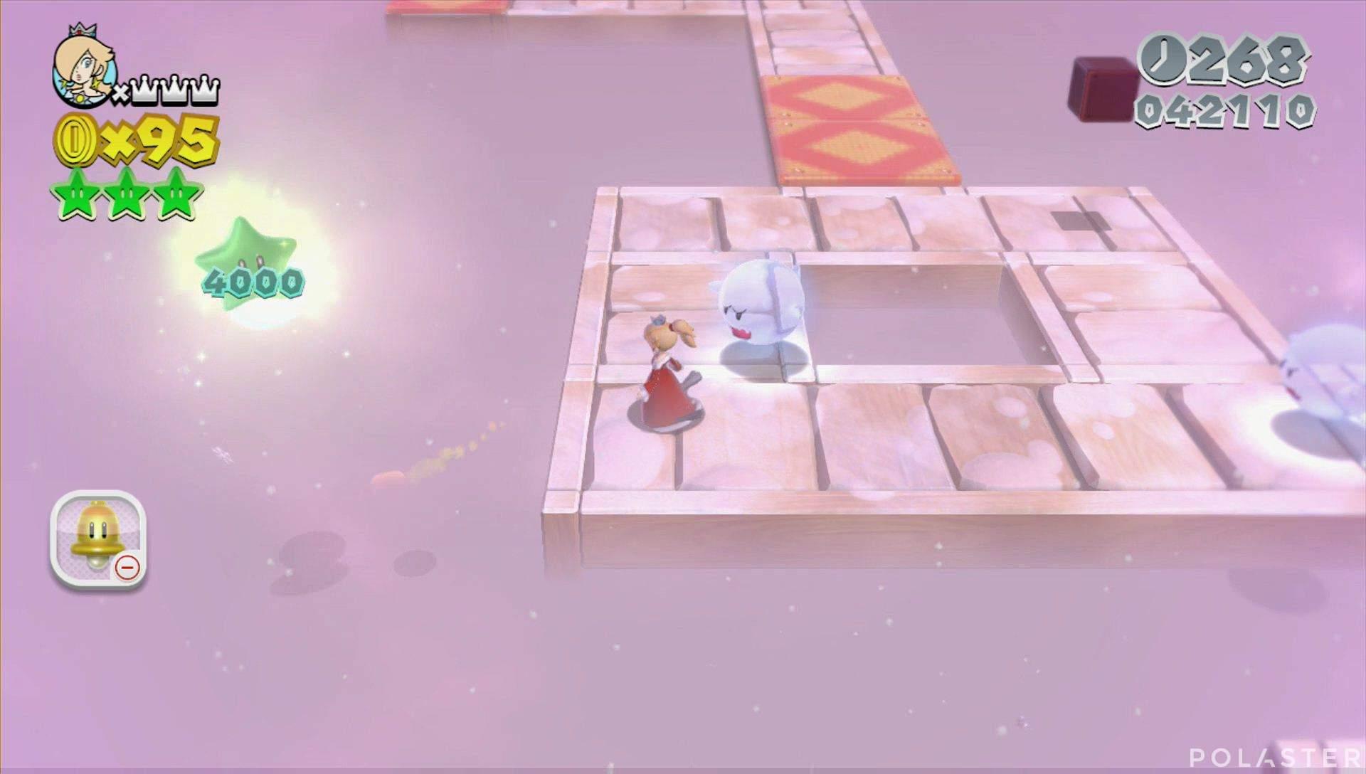 Super Mario 3D World Mundo Estrella-8 Estrella 3