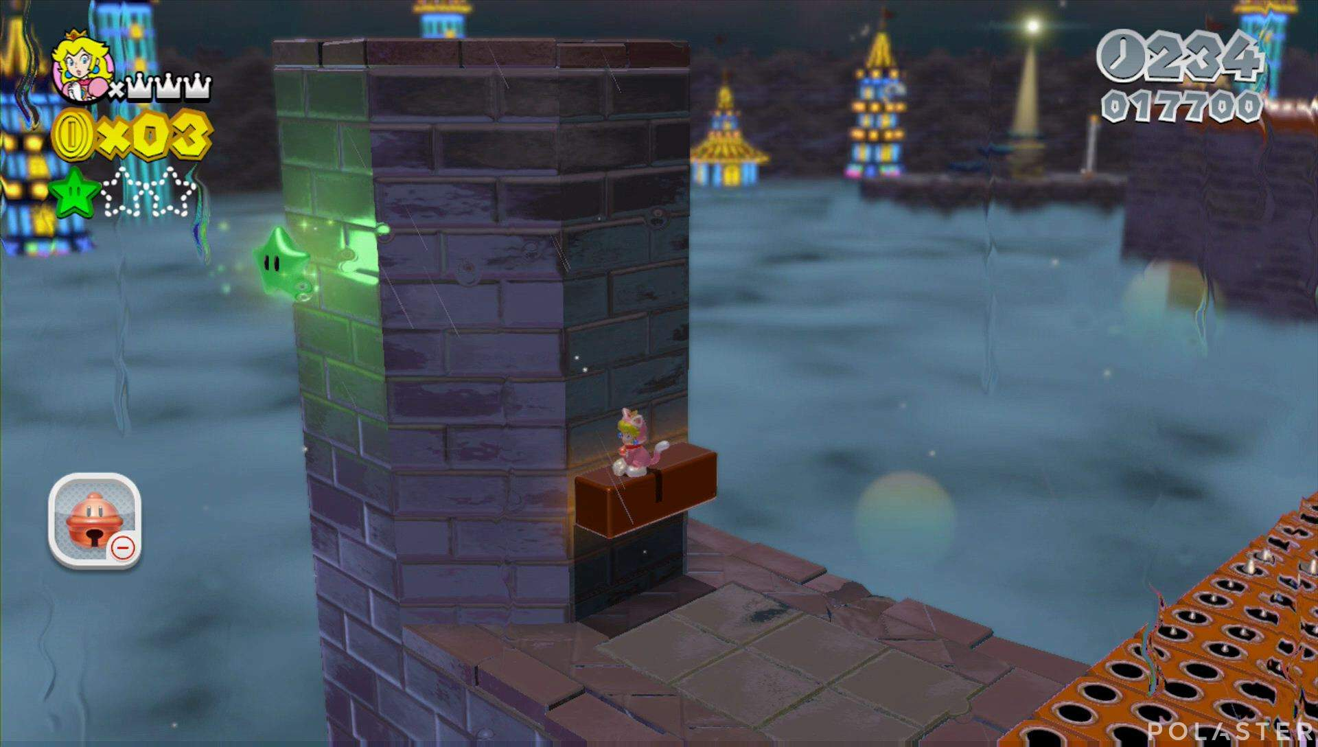Super Mario 3D World Mundo Flor-11 Estrella 2